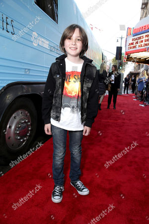 "Ethan Michael Mora is seen at Showtime's ""Roadies"" Premiere at ACE Hotel, in Los Angeles"