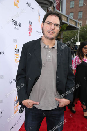 "Producer Carlos Cuaron seen at STX Entertainment's Premiere of ""Desierto"" at 2016 LA Film Festival Closing Night, in Culver City, Calif"