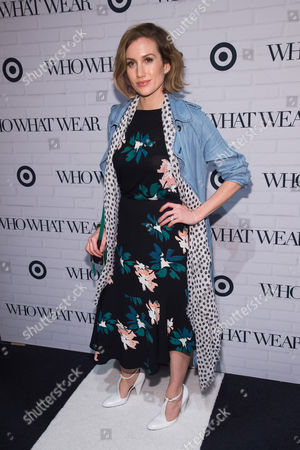 Katherine Power attends the Target and Who What Wear apparel and accessories collection launch celebration at ArtBeam, in New York