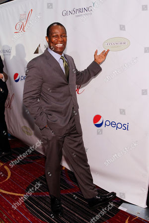 John Douglas Thompson seen at the 80th Annual Drama League Awards at Marriott Marquis Times Square on in New York