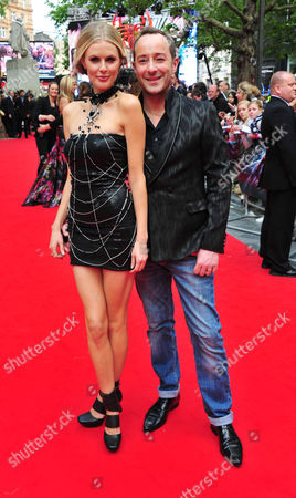 Donna Air and Scott Henshall arrives at the The Amazing Spiderman Gala Premiere at Odeon Leicester Square, on in London