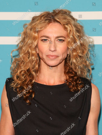 Claudia Black attends The CW Network 2015 Programming Upfront Presentation at The London Hotel, in New York