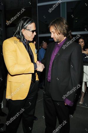 Mickey Rourke and Director Gregor Jordan