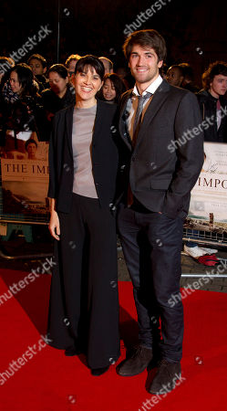 Maria Belon and Lucas Belon arrive for the UK Premiere of The Impossible at the BFI Imax in central London