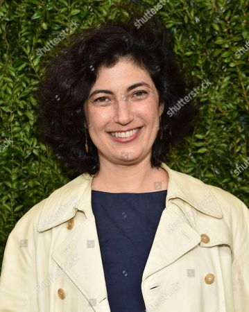 Sarah Flack attends Through Her Lens: The Tribeca Chanel Women's Filmmaker Program Luncheon at Locanda Verde, in New York