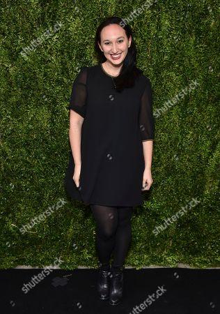Filmmaker Carly Hugo attends Through Her Lens: The Tribeca Chanel Women's Filmmaker Program Luncheon at Locanda Verde, in New York