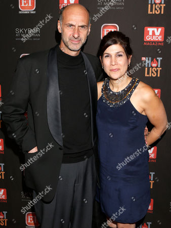 David Marciano and guest attend TV Guide Magazine's 2012 Hot List Party at Skybar at the Mondrian Hotel on in West Hollywood, California