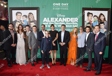 """Editorial picture of World Premiere Of """"Alexander And The Terrible, Horrible, No Good, Very Bad Day"""" - Red Carpet, Los Angeles, USA"""