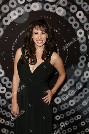 Actress Lesli Margherita arrives during the 2012 LA Stage Alliance Ovation Awards ceremony held at the Los Angeles Theatre, in Los Angeles, Calif
