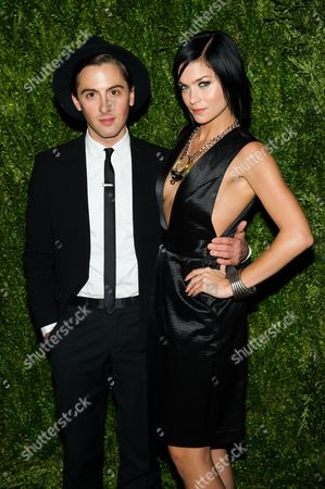 Stock Picture of Eddie Borgo and Leigh Lezark attend the CFDA Vogue Fashion Fund Awards on in New York