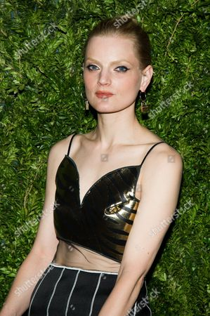 Guinevere van Seenus attends the CFDA Vogue Fashion Fund Awards on in New York