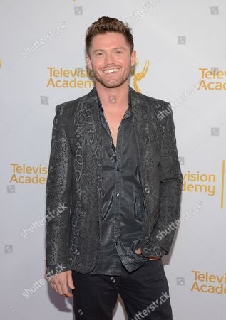Stock Image of Spencer Liff seen at the Television Academy's 66th Emmy Awards Choreographers Nominee Reception on in the NoHo Arts District in Los Angeles