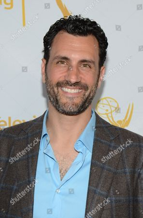 Stock Image of James LaRosa seen at the Television Academy's 66th Emmy Awards Choreographers Nominee Reception on in the NoHo Arts District in Los Angeles