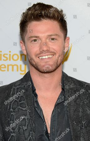 Spencer Liff seen at the Television Academy's 66th Emmy Awards Choreographers Nominee Reception on in the NoHo Arts District in Los Angeles