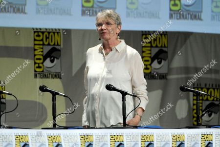 "Lois Lowry attends ""The Giver"" panel on Day 1 of Comic-Con International, in San Diego"
