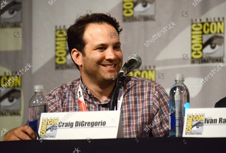 Craig DiGregorio attends the Ash vs. Evil Dead panel on day 2 of Comic-Con International, in San Diego, Calif