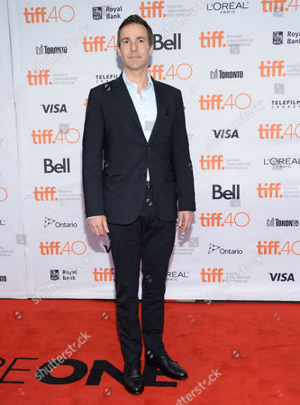 """David Ebershoff attends a premiere for """"The Danish Girl"""" on day 3 of the Toronto International Film Festival at the Princess of Wales theatre, in Toronto"""