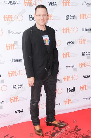 """Director Avi Lewis attends a premiere of """"This Changes Everything """" on day 4 of the Toronto International Film Festival at the the Ryerson theatre, in Toronto"""