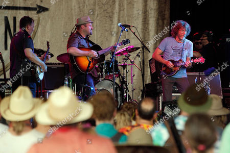 The Sam Bush Band performs at the Bonnaroo Music and Arts Festival, in Manchester Tenn