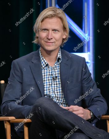 Executive producer Phil Klemmer participate in a panel during The CW Television Critics Association summer press tour, in Beverly Hills, Calif