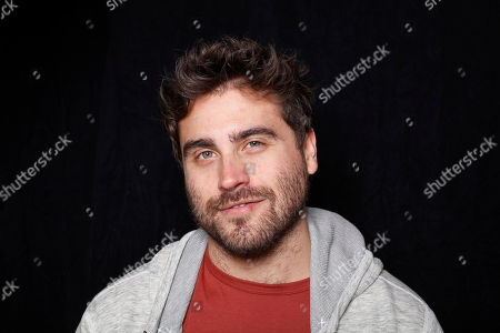 """Writer/director Richard Tanne poses for a portrait to promote the film, """"Southside with You"""", at the Toyota Mirai Music Lodge during the Sundance Film Festival on in Park City, Utah"""