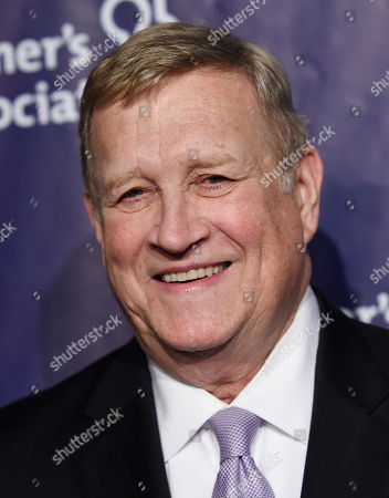 """Actor Ken Howard poses at the 23rd Annual """"A Night at Sardi's"""" event to benefit the Alzheimer's Association, at the Beverly Hilton Hotel, in Beverly Hills, Calif"""
