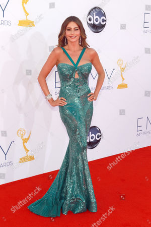 SEPTEMBER 23: Sophia Vergara arrives at the Academy of Television Arts & Sciences 64th Primetime Emmy Awards at Nokia Theatre L.A. Live on in Los Angeles, California