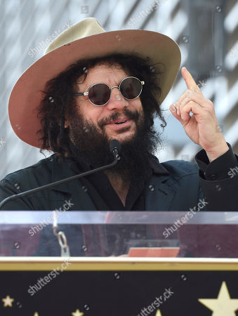 Don Was speaks during a ceremony honoring Al Schmitt with a star on the Hollywood Walk of Fame on in Los Angeles