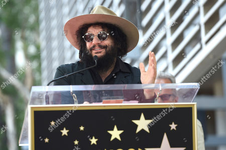 Don Was speaks during a ceremony honoring Al Schmitt with a star on the Hollywood Walk of Fame, in Los Angeles