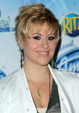 American Idol season 11 contestant Erika Van Pelt arrives at the American Idol Live! Tour press junket on in Los Angeles