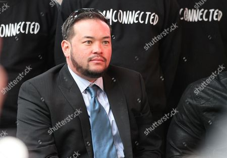 """Jon Gosselin attends a celebration of the new AOL original series """"Connected"""" at the Times Square, in New York"""