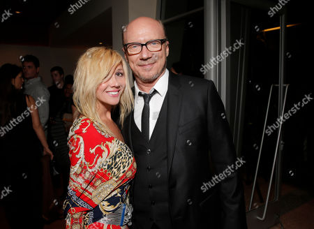 Nadeea and Paul Haggis attend the Artists for Peace & Justice Special Screening of Sony Pictures Classics and Paul Haggis' Third Person, in Los Angeles