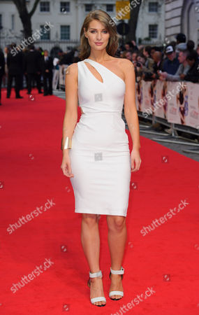 Francesca Newman-Young arrives for the UK premiere of The Other Woman at a central London cinema, London