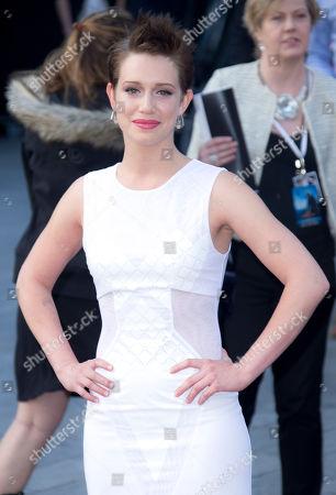 Daniella Kertesz arrive for the World Premiere of World War Z at a central London cinema