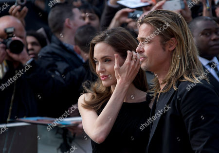 "Brad Pitt, Mereille Enos, Daniella Kertesz, Ludi Boeken, Director Marc Forster, Producer Dede Gardner, Jeremy Kleiner â?"" producer arrive for the World Premiere of World War Z at a central London cinema"