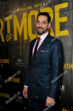 "Stock Photo of Patrick Sabongui attends Crackle's ""The Art of More"" season two premiere, at the Museum of Arts and Design in New York. Sony's streaming network, Crackle, will launch season two of its first original scripted drama, ""The Art of More,"" on November 16th"