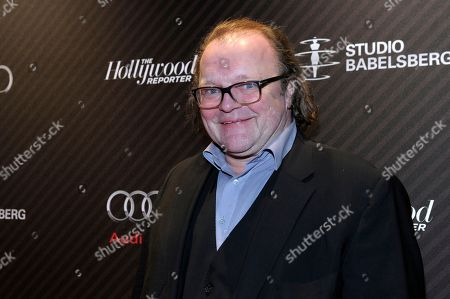 Stock Image of Producer Stefan Arndt attends The Hollywood Reporter party held at Borchardt's Restaurant to celebrate the 2014 Berlin International Film Festival with Studio Babelsberg and Audi,, in Berlin