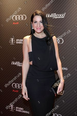 Producer Minu Barati-Fischer attends The Hollywood Reporter party held at Borchardt's Restaurant to celebrate the 2014 Berlin International Film Festival with Studio Babelsberg and Audi,, in Berlin
