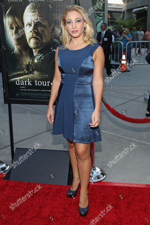 """Stock Image of Actress Annabelle Amirav arrives at the premiere of """"Dark Tourist"""" at the ArcLight Cinemas on in Los Angeles"""