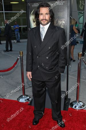"""Actress Frank John Hughes arrives at the premiere of """"Dark Tourist"""" at the ArcLight Cinemas on in Los Angeles"""