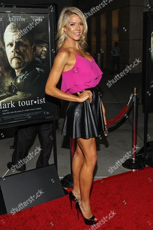"Stock Image of Actress Suzanne Quast arrives at the premiere of ""Dark Tourist"" at the ArcLight Cinemas on in Los Angeles"
