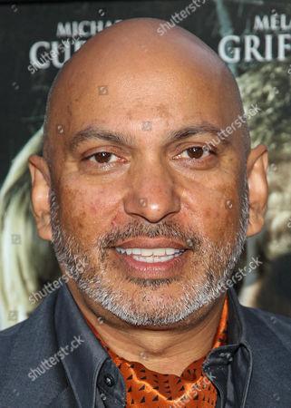 "Director Suri Krishnamma arrives at the premiere of ""Dark Tourist"" at the ArcLight Cinemas on in Los Angeles"