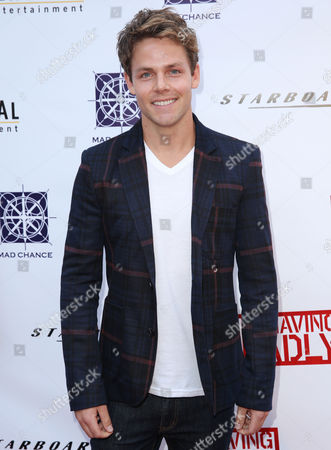 "Lachlan Buchanan arrives at a special screening of ""Behaving Badly"" on in Los Angeles"