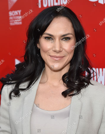 """Kyra Zagorsky attends the Los Angeles premiere of PlayStation's original series """"Powers"""" at Sony Pictures Studios on . """"Powers"""" premieres March 10 on PlayStation Network"""