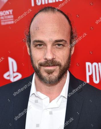 """Stock Picture of Phillip DeVona attends the Los Angeles premiere of PlayStation's original series """"Powers"""" at Sony Pictures Studios on . """"Powers"""" premieres March 10 on PlayStation Network"""