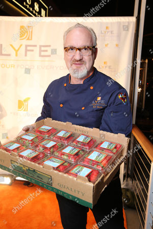 Chef Art Smith at the second Lyfe Kitchen grand opening celebration on in Culver City, CA