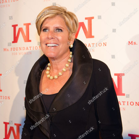 Suze Orman attends the Ms. Foundation for Women Gloria Awards at Cipriani 42nd Street on in New York