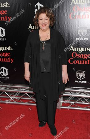 """Actress Margot Martindale attends the """"August: Osage County"""" premiere at the Ziegfeld Theatre on in New York"""
