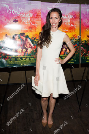 "Olivia Chantecaille attends the premiere of ""Mood Indigo"" on in New York"