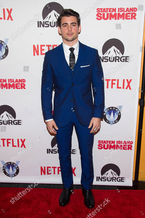 "Johnny DeLuca attends the premiere of ""Staten Island Summer"" at the Sunshine Landmark Theater, in New York"